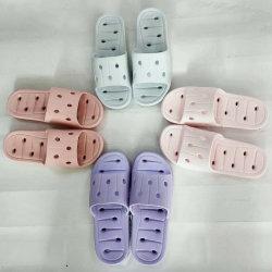 I pistoni unici di EVA dei sei di Coloer uomini/donna si dirigono il sandalo, sandali dei pattini della stanza da bagno