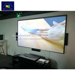 Estrutura ultra fina 120 Polegadas Alr Ecrã de projecção Projector de curta distância Ultra