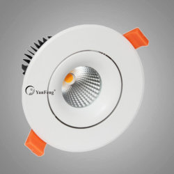 5W luz de tecto LED rebaixada para recordações caso Exibir e sala de estar