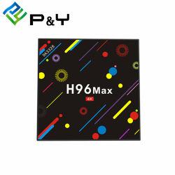 Телевизор встроенным спутниковым ресивером H96 Max H2 Rk3328 4G 32g звезд мечты в салоне 800 HD спутниковое телевидение с WiFi телеприставки подставки