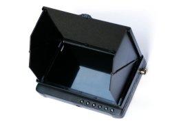 Prix de gros 7pouce 1080P Visor Ahd DVR pleine vue moniteur à écran LCD