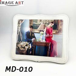 La sublimation Globulite MDF vierge cadre photo de mariage pour DIY MD-010