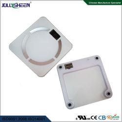 강화 유리 플래트홈 LCD 네거티브 전시를 가진 건강 Bluetooth 체지방 가늠자