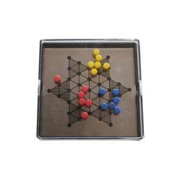 Popular juego de mesa Mini Ludo magnético Kids Juego de Ludo
