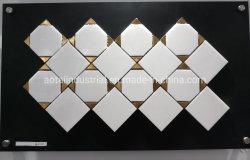 熱い販売のWhitleの台所Backsplashの壁のための大理石の混合されたアルミニウムモザイク・タイル