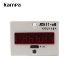 Memoria elettronica di mancanza di corrente elettrica delle cifre del contatore 6 di Jdm11-6h con il contatore di accumulazione di CA Digital di tensione