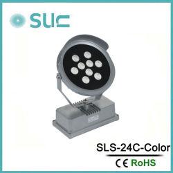 45 Вт AC220-240V RGBW открытый светодиодный фонарь направленного света