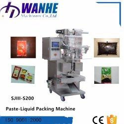 Automatische Sonnenblumensamen-Olivenöl-halbflüssige Verpackungsmaschine