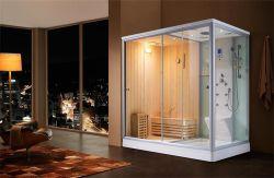 Venta de fábrica Home Fitness Spa ducha de vapor húmedo Sauna seco