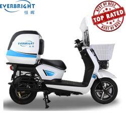 Grande contenitore posteriore del motociclo di pasto rapido di motorino elettrico elettrico di consegna