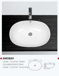 Amcb267 cerâmica de alta qualidade no âmbito do quadro do contador de dissipador Oval