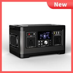 500W Generador Portátil Batería de litio Pack generador solar AC 110 a 220V, la alimentación de emergencia Copia de seguridad de la CPAP de camping al aire libre