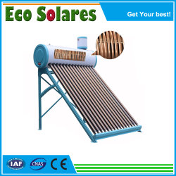 콜토르스 솔레스 칼렌타도레스 아구아 칼렌타도르 드 아구아 솔라 라 에너지 A Solar EL Colector Termo Solar Tubos De Vidrio Al Vacio EL Tanque 히터