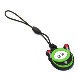 Neuheit 3D Custom Logo Soft PVC-Handy Charm