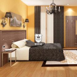 Het economische Meubilair Slaapkamer van de Bedrijfs van het Hotel in de Melamine Casegoods van de Logeerkamer