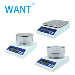 200g/0,01G, 300G/0,01G, 500G/0,01G 1000G/0,1 g a escala da balança digital de precisão