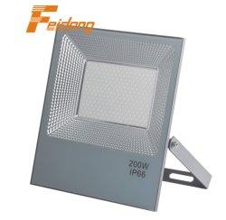 10W-200W, das in der China-wasserdichten SMD der Dekoration LED des neuen Förderung-Verteiler-Produkt-Scheinwerfer-Cer-im Freien Lampen-IP65 Aluminiumgehäuse-gebildet wird, projektiert Flut-Licht