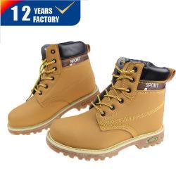 CE Standard Construction Area Cream Color Branded Zapatos de seguridad/Botas