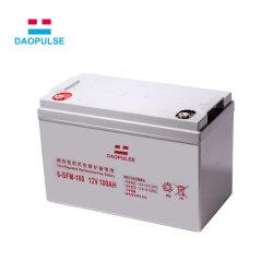 La vente en gros de la plaque de batterie au plomb 12V 100Ah batterie UPS pour arrêt du système solaire de grille