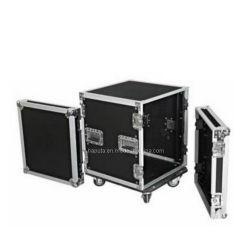 """12U 19"""" noir personnalisé pour les équipements de cas de rack (HF-1326)"""