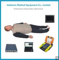 H-Acls8000c de Uitvoerige Vaardigheden die van de Noodsituatie Mannequin (het model van het onderwijs) opleiden