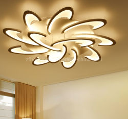 Современные дешевые и хорошее качество акриловый светодиодный потолочный светильник для дома украшения Zf-Cl-039