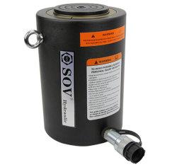 Simple effet vérin hydraulique de fort tonnage/vérin de levage avec certificat CE