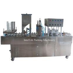 Melhor qualidade de congestionamento totalmente automática e frutos com máquina de enchimento e selagem de gelo