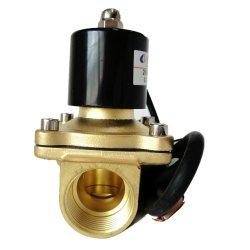 2W Série Bobina impermeável de diafragma de ação direta da Válvula Solenóide de Água de ar pneumática