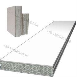 Comitato di parete leggero/a prova di fuoco del pannello a sandwich del cemento di ENV per la parete esterna della parete interna