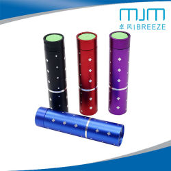 Liga de alumínio de Escultura colorida mini lanterna com bateria AA