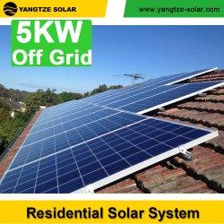 Yangtze 5kVA desliga as baterias do Sistema Solar de grade para o Sistema de Carregamento do Veículo