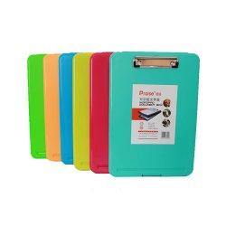 A4 multicolore PP détenteur du dossier de dossier pour la papeterie du portefeuille