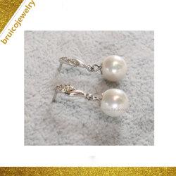 نجمة أزياء الفتيات مجوهرات شعبية Zircon 18K الذهب الماس الزر مجوهرات ايارينغ بيرل ايرنغ