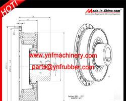 Эластичной резины для муфты компрессора кондиционера воздуха