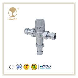 Heape Wras Tmv2 Messingwasser-thermostatische Mischbatterie mit Anschluss für Befestigungsteile