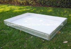 PVC底1200*800mmが付いている庭のRisedのベッド