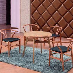 (SP-EC805) largement utilisé les meubles de salle à manger en bois massif Président Restaurant chêne triangle