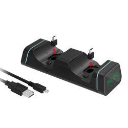 Cargador de controlador de PS5 PS5 controlador de la estación de carga USB doble Base de carga para Playstation 5 para xBox