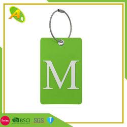 Оптовая торговля рекламные Custom Авиаперелеты PU/кожи/пластиковых резиновый мягкий ПВХ багажа тег индекса для Сувенирный подарки (002)