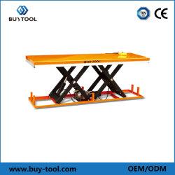 Большие для тяжелого режима работы электрического платформы гидравлический подъемный стол ножничного типа/подъемного стола