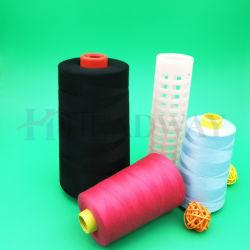 Gros en Chine coloré teints en fils à haute ténacité de 100 % pour la couture de fil de polyester