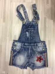 Los nuevos diseños de jeans de vestir chica puente de Sundress monos de falda