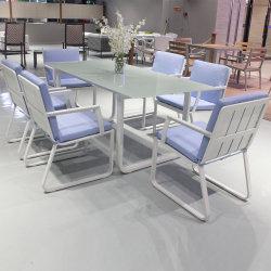정원 옥외 안뜰 알루미늄 플라스틱 목제 바위로된 정원 의자