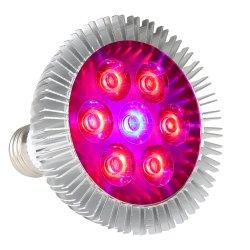 L'obiettivo LED di Xinjia 21W E27 7PCS coltiva Zw0060 chiaro