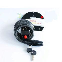 Vélo d'alarme, alarme de verrouillage de verrouillage de moto, câble de verrouillage de l'alarme, alarme de verrouillage de vélo, Al-B0121