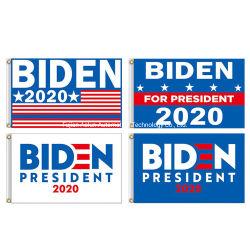 3X5 pied d'un drapeau pour Biden 2020 Élection bannière avec Oeillets en laiton