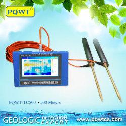 Pqwt a 500 metros de agua subterránea la prospección de accesorios de instrumentos de topografía