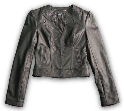 여성용 가죽 재킷(S/1L-50400)