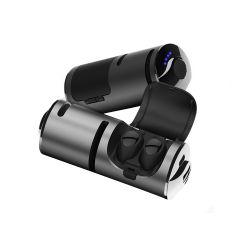 携帯電話の話のリチウム電池の充電器ボックス力バンクが付いているモノラルBluetoothのイヤホーン21の
